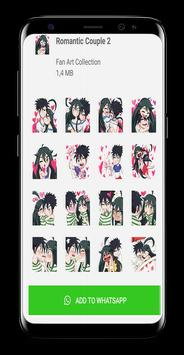Romantic Love Sticker For Whatsapp WAStickerApps💖 screenshot 2