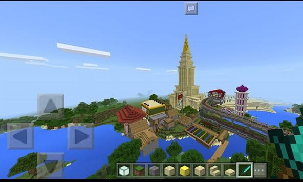 Mini World Craft : Town Builder poster