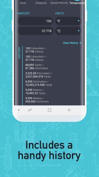 Unit Converter - Calculator: Metric & Imperial screenshot 1