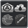 Icona Black, Silver and Grey Icon Pack ✨Free✨