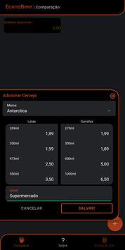 EconoBeer - Calculadora de Bebidas screenshot 1