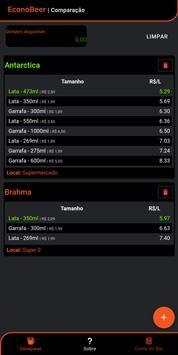 EconoBeer - Calculadora de Bebidas screenshot 2
