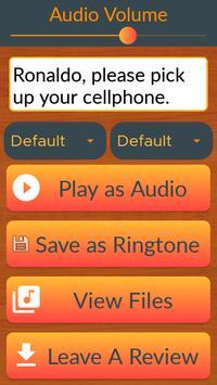 Voice Ringtone Maker screenshot 2