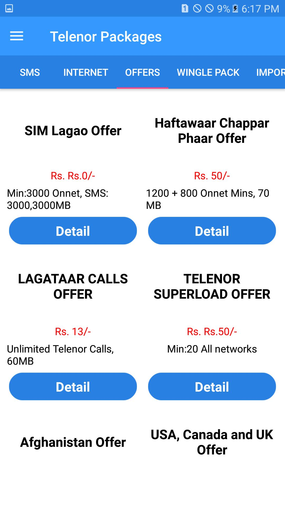 All Telnor Packages 2019 Free: for Android - APK Download