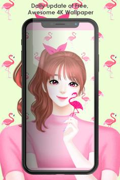 The Art Girly Cute Wallpaper screenshot 2