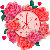 Rose Live Clock Wallpapers : Rose Backgrounds 2019 icon
