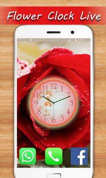 Rose Live Clock Wallpapers : Rose Backgrounds 2019 screenshot 9