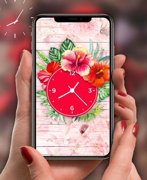 Rose Live Clock Wallpapers : Rose Backgrounds 2019 poster