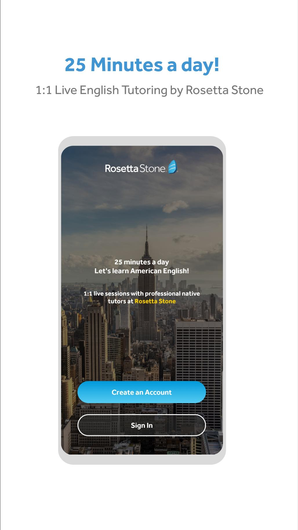 Rosetta Stone English Live Tutoring for Android - APK Download