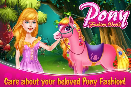 Pony Fashion World poster
