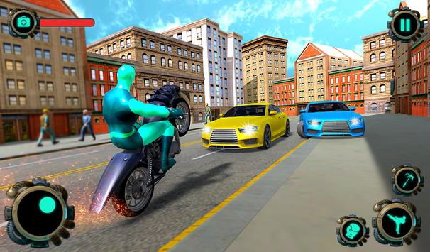 Rope Hero Gangster City – Crime Mafia Vice Town screenshot 9