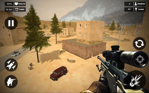 Rope Superhero vs Gangster Sniper Shooting 3D screenshot 1