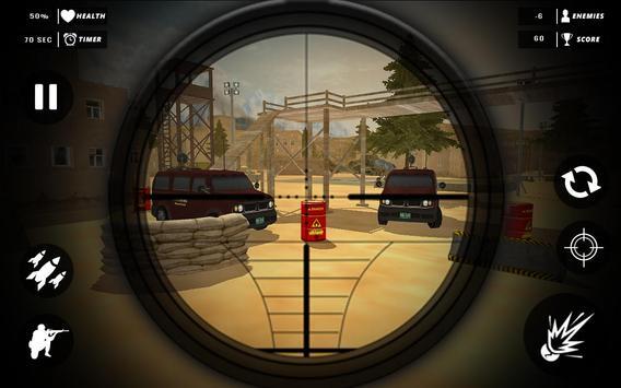 Rope Superhero vs Gangster Sniper Shooting 3D screenshot 2