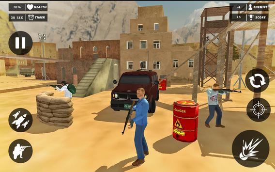 Rope Superhero vs Gangster Sniper Shooting 3D screenshot 3