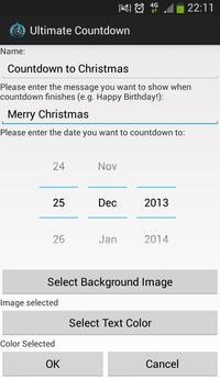 Customizable Countdown screenshot 1