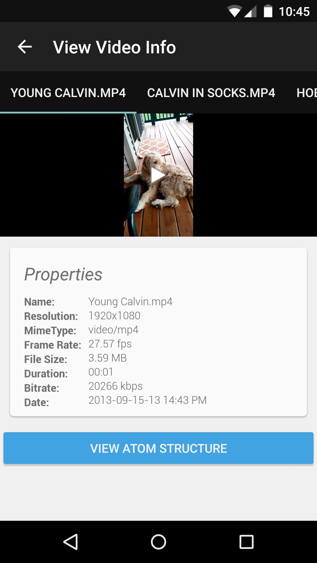 Video Info Viewer for Android - APK Download