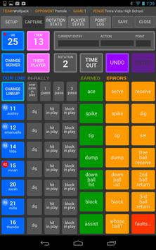 SoloStats 123 Volleyball Ekran Görüntüsü 4