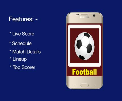 Live Football Scores screenshot 1
