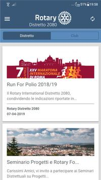 Rotary Distretto 2080 poster