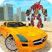 New Multi Car Transforming Robot Game icon