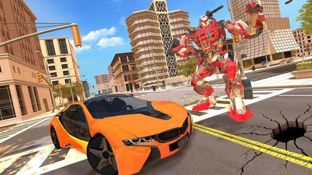 New Multi Car Transforming Robot Game screenshot 1