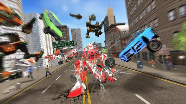 New Multi Car Transforming Robot Game screenshot 4