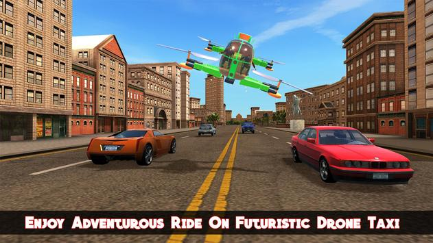 Real Flying Drone Taxi Simulator Driver screenshot 1