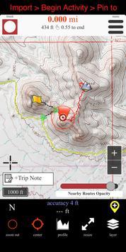 Route Scout - GPS Topo Mapper 截图 1