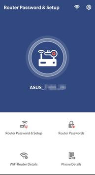إعداد مسؤول جهاز التوجيه: كلمات مرور جهاز التوجيه تصوير الشاشة 5