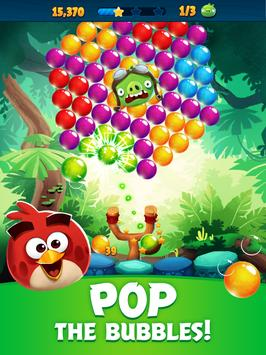 Angry Birds POP Bubble Shooter تصوير الشاشة 10