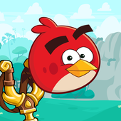 Angry Birds Friends أيقونة