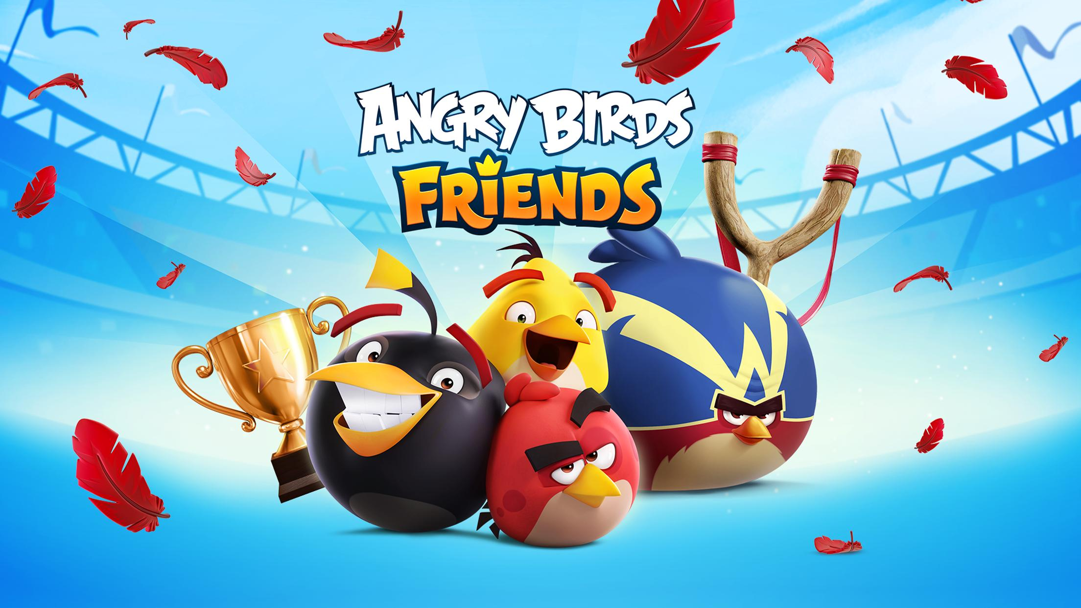 angry birds friends free online game