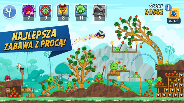 Angry Birds Friends plakat