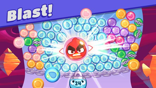 Angry Birds Dream Blast - Toon Bird Bubble Puzzle स्क्रीनशॉट 10