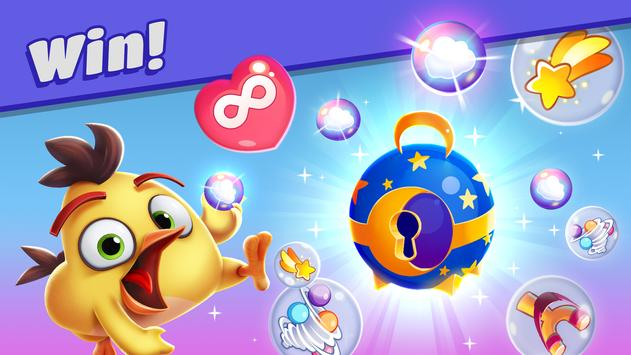 Angry Birds Dream Blast - Toon Bird Bubble Puzzle स्क्रीनशॉट 11