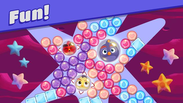 Angry Birds Dream Blast - Toon Bird Bubble Puzzle स्क्रीनशॉट 2