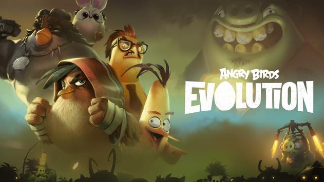 Angry Birds Evolution постер