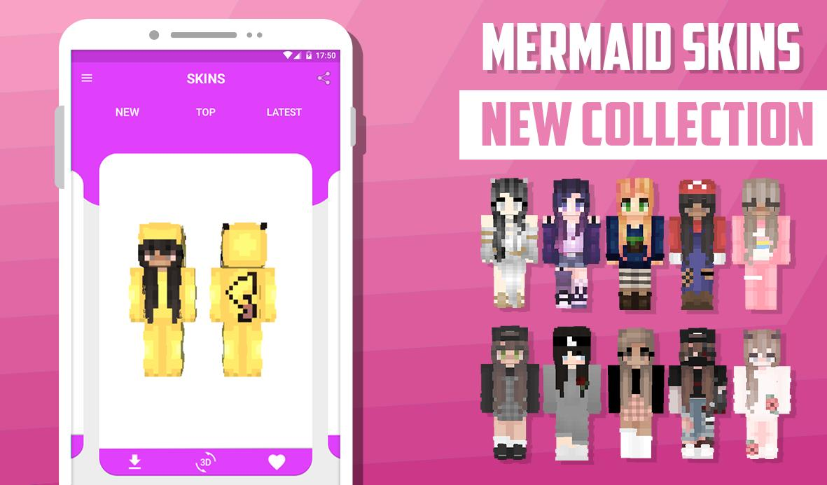 Girl Skins For Minecraft For Android Apk Download