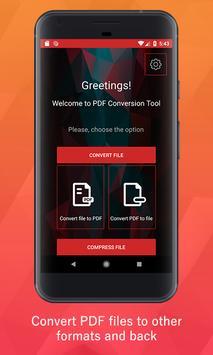 PDF Conversion Tool poster