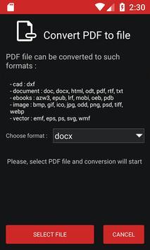 PDF Conversion Tool screenshot 2