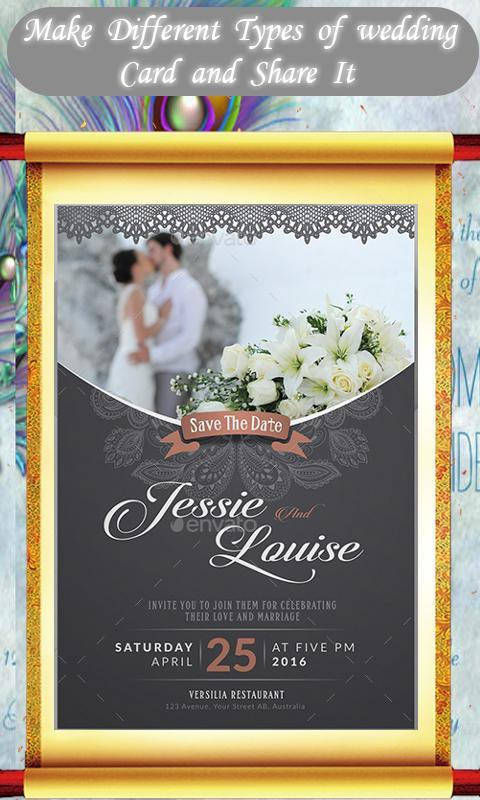 Royal Wedding Invitation Card Maker For Android Apk Download