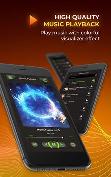 MP3 Player - Free Music Player [Pro] تصوير الشاشة 3