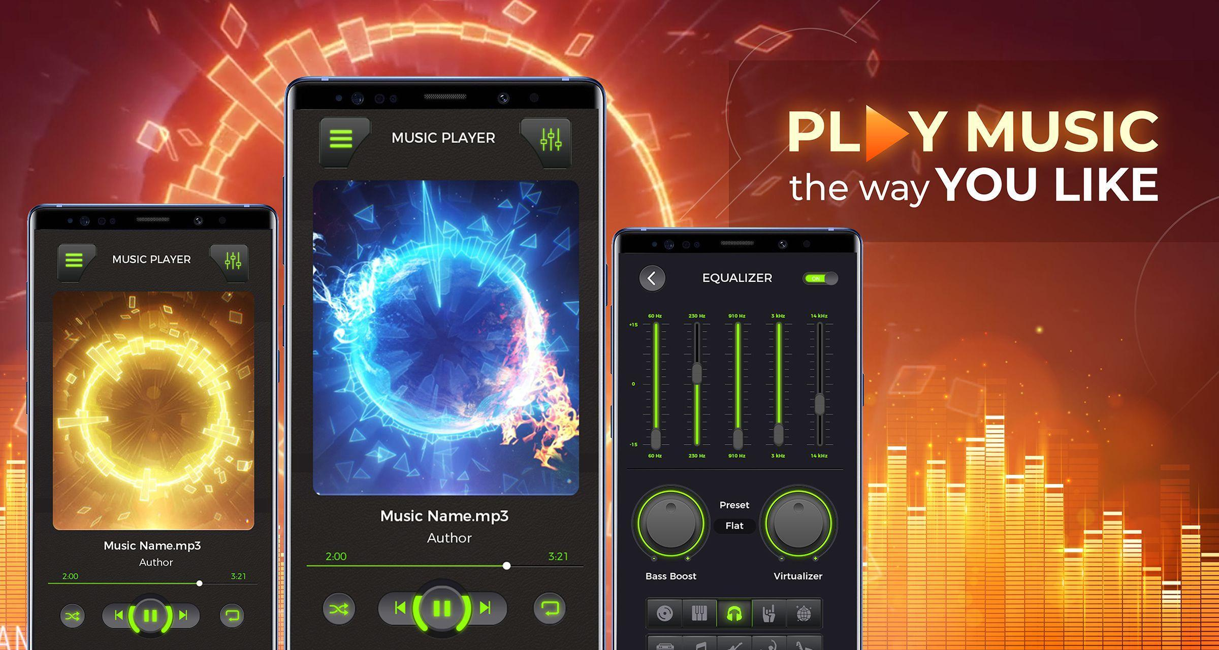 MP3 Player - Free Music Player [Pro] for Android - APK Download