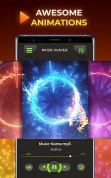 MP3 Player - Free Music Player [Pro] تصوير الشاشة 5
