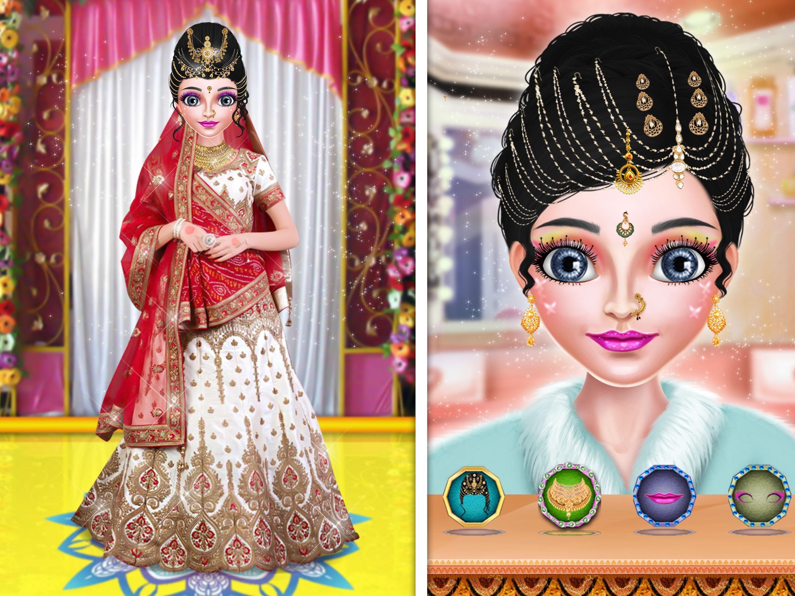 Royal Indian Girl Fashion Salon For Bride For Android Apk Download
