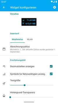 Data counter widget Screenshot 6