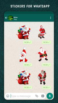 Santa Sticker For Whatsapp screenshot 2