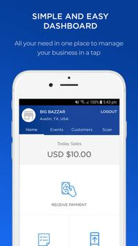 R PAY - Business App poster
