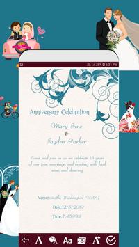 Invitation card maker free & Greeting cards design screenshot 5