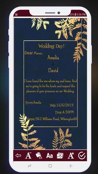 Invitation card maker free & Greeting cards design screenshot 6